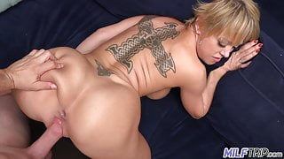 MILF Trip - Dee Williams gets her pussy bashed - Part 2