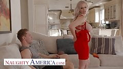Naughty America - Casca Akashova fucks the football captain