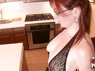 Hot redhead ass pics Hot redhead wife in body stocking fucks herself for you