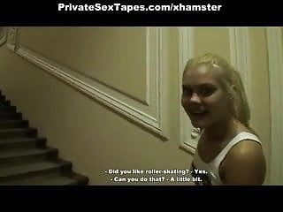 Free babysitter sex scenes Amateur sex free scenes of blonde girl fucking in porch