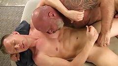 The male masseur