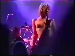 Courtney love upskirt photo Courtney love topless onstage