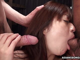 Casual dinnerware asian durable bowl Maria ono had a casual threesome with two horny guys