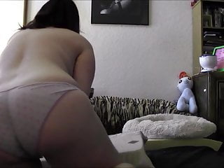Girls sex doggie style Doggie style hitachi use geeky chubby girl
