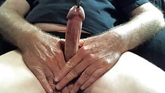 Putting a nail in my dick Part one.