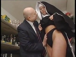 Gay man body Hot bodied nun gets fondled by perverted old man