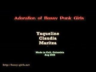 Punk girls nude porn Adoration of bossy punk girls