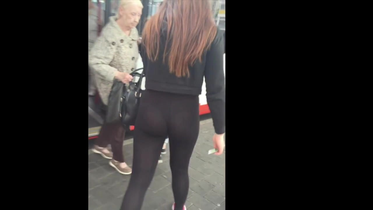 Black Teen Twerking Leggings
