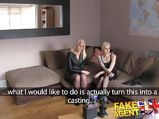 Casting couch west africa porn - Fakeagentuk anal threesome on the casting couch