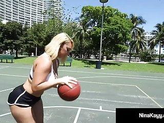 Basketball twinks - Pawg nina kayy fucks big black cock basketball coach