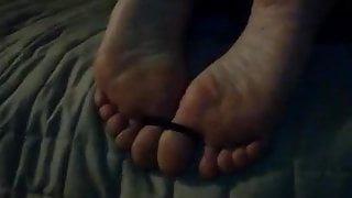 Wife feet whipped