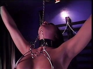 Bdsm rack pics - Hottie with a nice rack in bdsm action