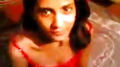 Sexy and Cute Neha's boobs fondled by  uncle
