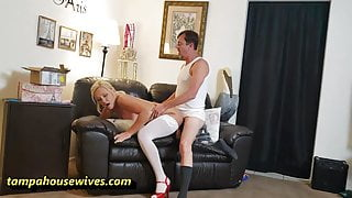 Sexy Nudist Housewife Knows How to Party
