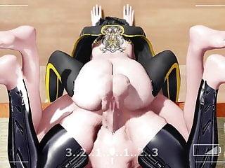 Futanari Mmd Hentai Nyakumi Threesome