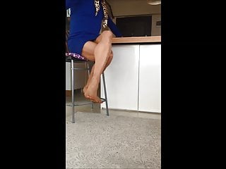 Transparent sexy miniskirt Sexy miniskirt housewife