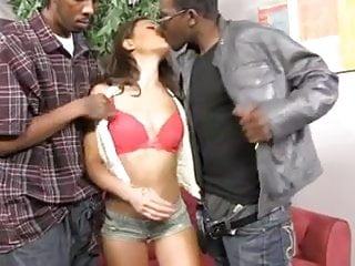Black blowjobs are us Olivia used like a slut by two bbcs
