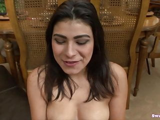 First swallow cum Miya stones retarded blowjob and first swallow scene