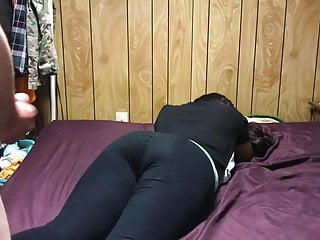 Women in tights mature - Cumming on pawg ass in tights