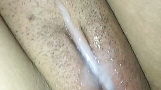 My stepbrother cums so hard in my wet pussy