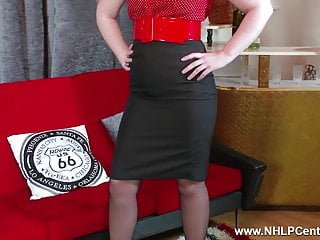 Vintage a peel - Hot babe peels off kinky lingerie joi wanks in nylon garters