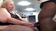 Black cock hungry pawg gilf whore Aaliyah Blue destroyed