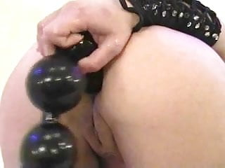 Anal girls stretching She stretched her ass for a big toy