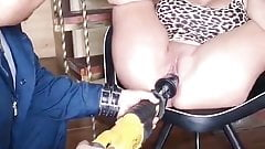Drilling machine pussy