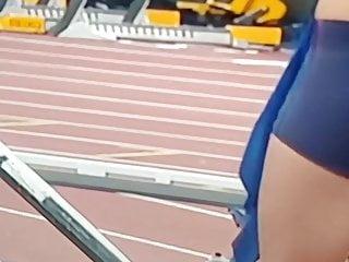 Track field ass Peinado venezuela track ass slo mo