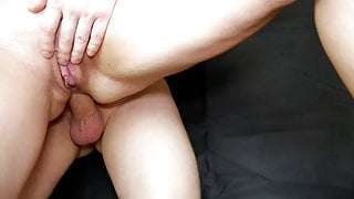 Hard Rough Anal Sex, Cock Goes Deep In The Ass To The Balls