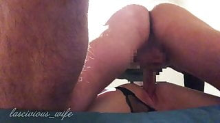 Wife creampied from neighbour
