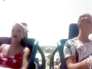 Roller coaster tit flash Roller coaster