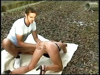 Free dogystyle porn German outdoor dogystyle