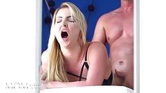 MOMxxx Big tits Scottish MILF Georgie Lyall POV blowjob and