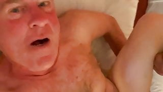 Daddy taking his colleagues' cock