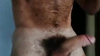 Horny hairy sexy man