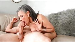 Mature secretary with boss