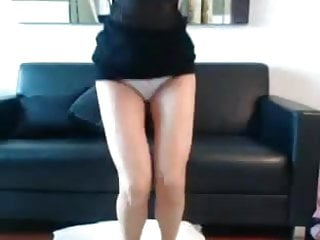 Sexy tall shoes Tall sexy blonde teases toys on cam
