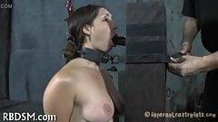 BDSM slave whipping
