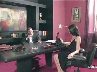 Secretary in office fuck real - Boss fucks his horny secretary in the office