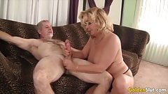 Golden Slut - Older Lady Blowjob Compilation Part 18