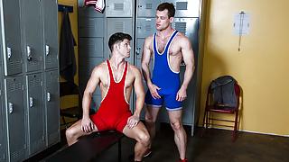 Locker Room Fantasies with Handsome Boys
