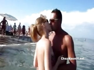 French riveria pictures nude Public blowjob on nude beach part1