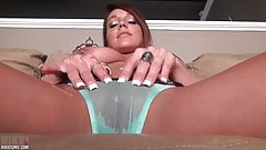 Nikki Sims - Oiled Panties Pussy Bikini Cameltoe 2