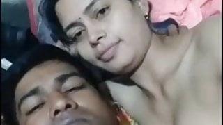 Desi Bhabhi Enjoying with here husband