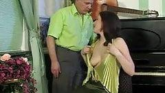 Piano teacher giving Teen her FUCKING Piano lesions