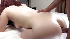 Kinky Babe Anal Sex with BBC Reaction
