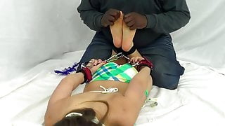 Kendra tickled - Feet compilation
