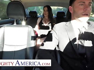 Naughty america sex on couch - Naughty america - driver gets lucky with bianca burke