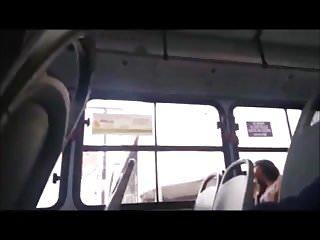 Chinese girls giving handjobs - Flash bus 105
